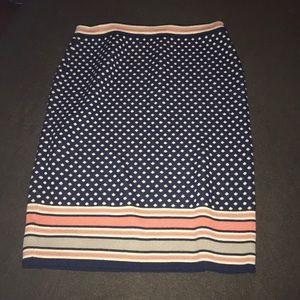 Anthro sweater pencil skirt